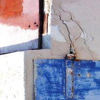 Fotografie, Reiseimpressionen, Blau, Orange