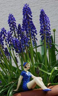 Frühlingsgefühle, Miniaturfiguren, Frühling, Fotografie