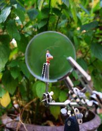 Miniaturfiguren, Lupe, Gesäß, Fotografie