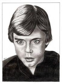 Bleistiftzeichnung, Kohlezeichnung, Portrait, Zeichnung