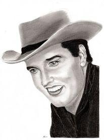 Elvis presley, Zeichnungen, 2014