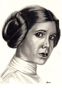 Star wars, Bleistift kohle kreide, Zeichnung, Zeichnungen