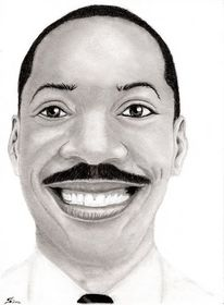 Zeichenstift, Bleistiftzeichnung, Murphy, Portrait
