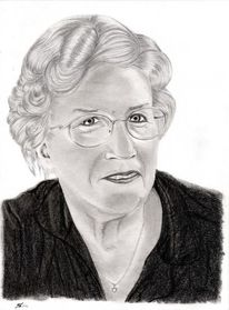 Portrait, Kohlezeichnung, Bleistiftzeichnung, Zeichnungen