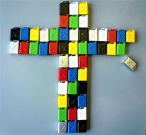 Kanister, Kreuz, Religion, Ölmalerei