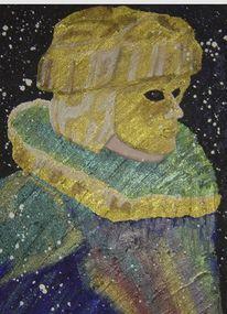 Fresko, Malerei, Karneval, Venedig