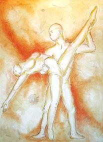 Leidenschaft, Tanz, Beige, Turnen