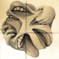 Symbolismus, Acrylmalerei, Malerei