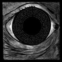 Symbolismus, Schwarzweiß, Zeichnung, Schwarz weiß