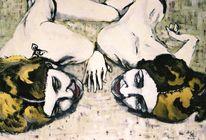 Frau, Homosexualität, Liebe, Malerei