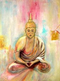 Malerei, Figural, Buddha