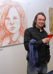 Pinnwand, 2009, Vernissage