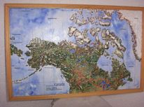 Erde, Stadt, Geschenk, Kanada