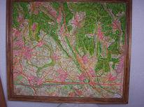 Wald, Relief, Kreis, Stadt
