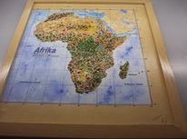 Löwe, Relief, Afrika, Besonder