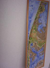 Nordsee, Relief, Deutschland, Meer