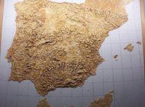 Portugal, Atlantik, Relief, Design