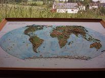 Landschaft, Ozeanien, Südpol, Relief
