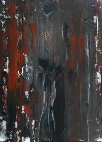 Malerei, Malen, Surreal, Destruktivität