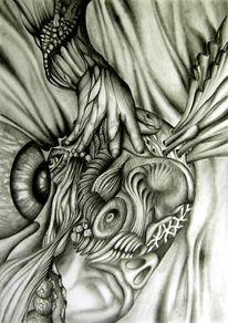 Universum, Surreal, Zeichnungen,