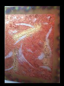 Abstrakt, Silber, Fantasie, Malerei
