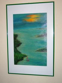 Meer, Fantasie, Insel, Küste