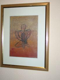 Figur, Acrylmalerei, Malerei, Figural