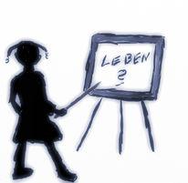 Frage, Leben, Lehrer, Malerei