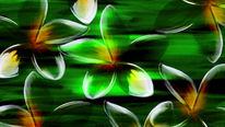 Blumige, Gedanken, Blumen, Malerei