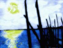 Bucht, Himmel, Sonne, Wasser
