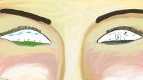 Augen, Gesicht, Leben, Denken