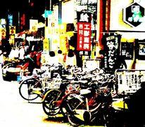 Fahrrad, Fotografie, Japan, Japanisch