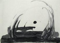 Japanisch, Zeichnung, Japan, Zeichnungen