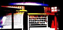 Posterisation, Japanisch, Tempel, Experimentelle