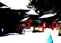 Druck, Altar, Japan, Shinto