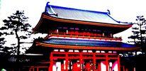 Japanisch, Shinto, Religion, Architektur