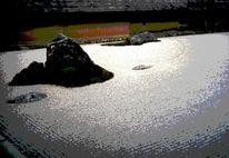 Buddhismus, Garten, Meditation, Japan
