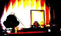 Teezeremonie, Experimentelle, Posterisation, Bambuskelle