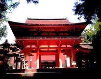 Japanisch, Fotografie, Schrein, Japan