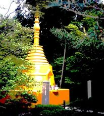 Zen, Buddhismus, Japan, Stupa