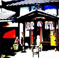 Japan, Fotografie, Tempel, Eingang