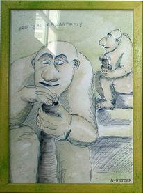 Geduld, Neandertaler, Neandertal, Warten