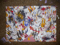 Malerei, Abstrakt, Hommage