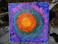 Malerei, Abstrakt, Pegasus