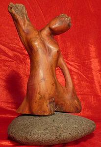 Holzbildhauer, Skulptur, Südtirol, Wurzelskulptur