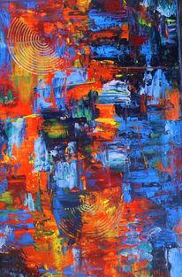 Modern art, Direkt, Acrylmalerei, Malerei modern