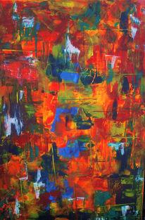 Acrylmalerei, Malerei modern, Modern art, Malerei