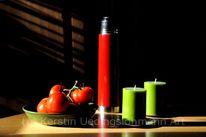 Schatten, Tomate, Kerzen, Rot