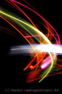 Graphisch, Licht, Klar, Lichtspuren
