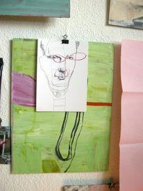 Zeichnungen, Wand